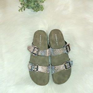 Shoes - Madden Girl by Steve Madden jewel slide
